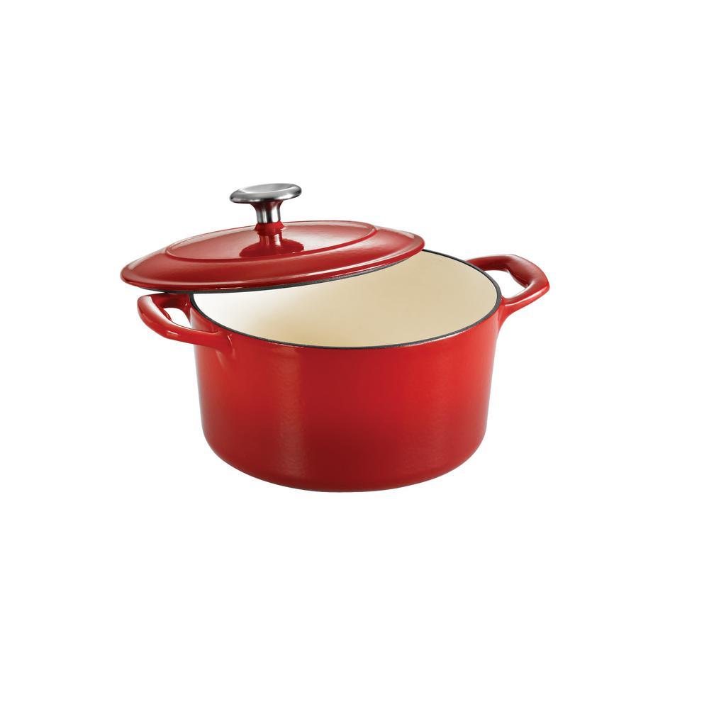 Gourmet 3.5 Qt. Cast Iron Dutch Oven