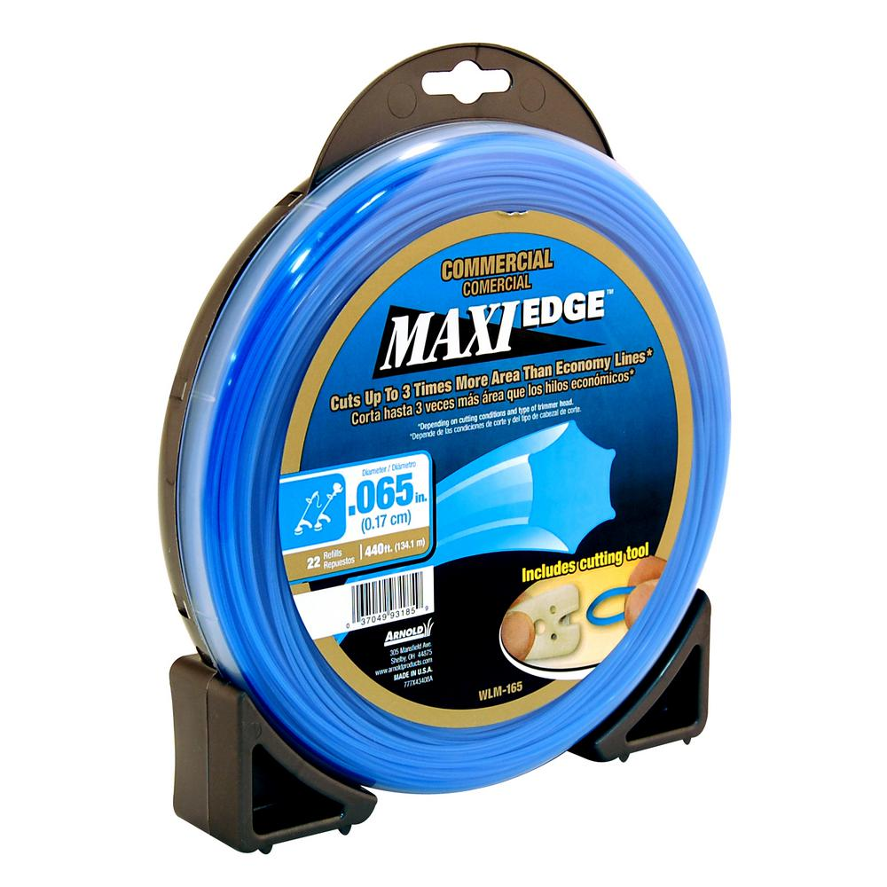 Arnold Maxi-Edge 065-Inch x 220-Foot String Trimmer Head Line Weed Wacker