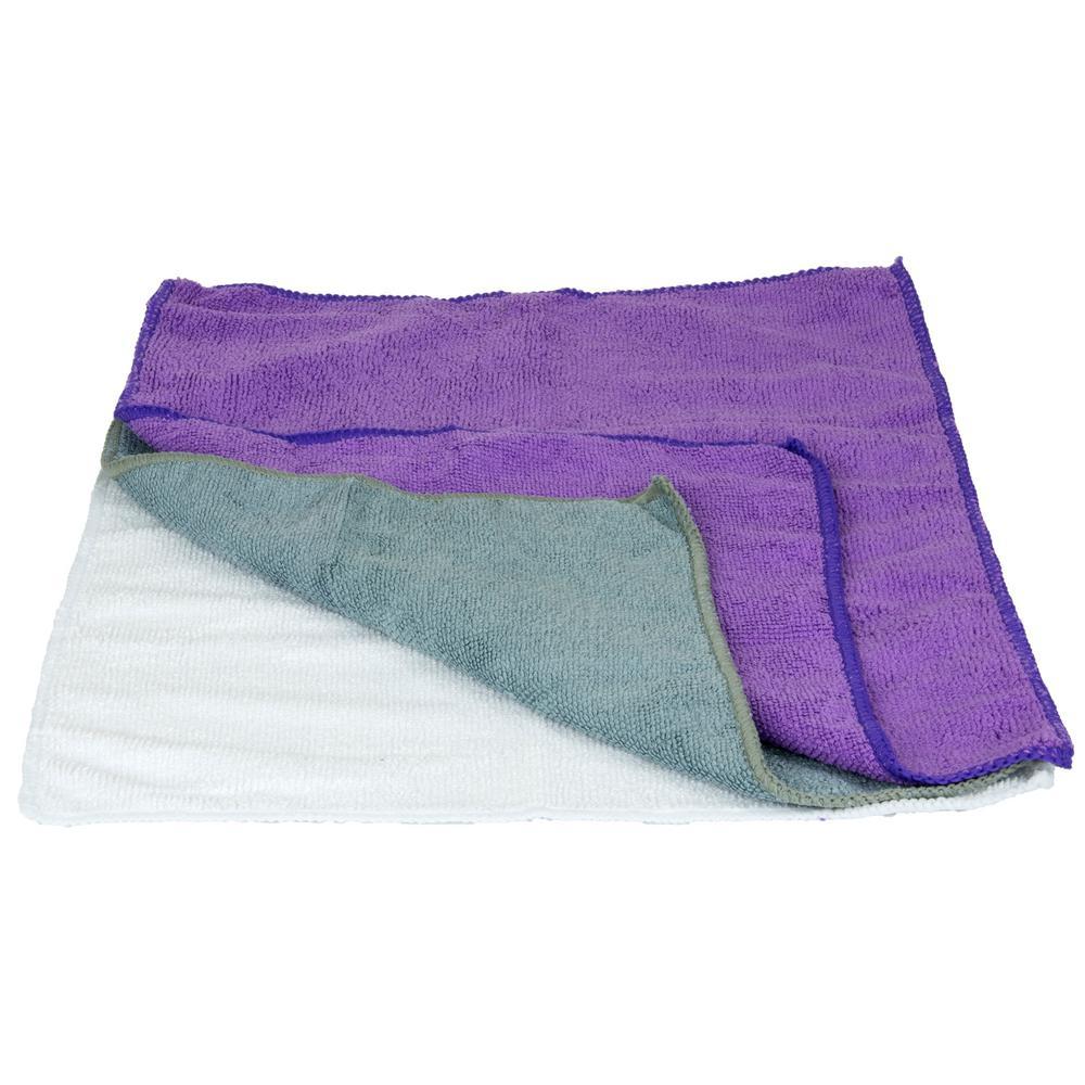 Microfiber Wash Towels (3-Pack)