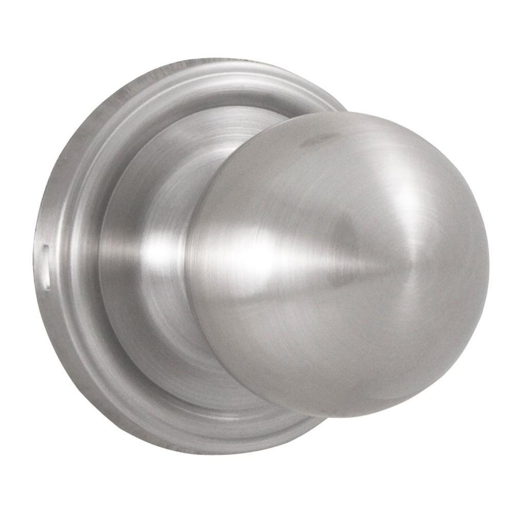 Essentials Satin Nickel Privacy Barrington Knob