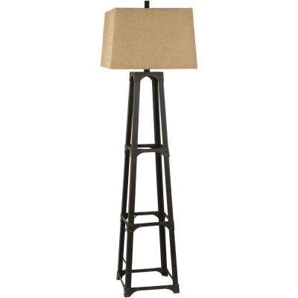 Alstead 63 in. Bronze Floor Lamp