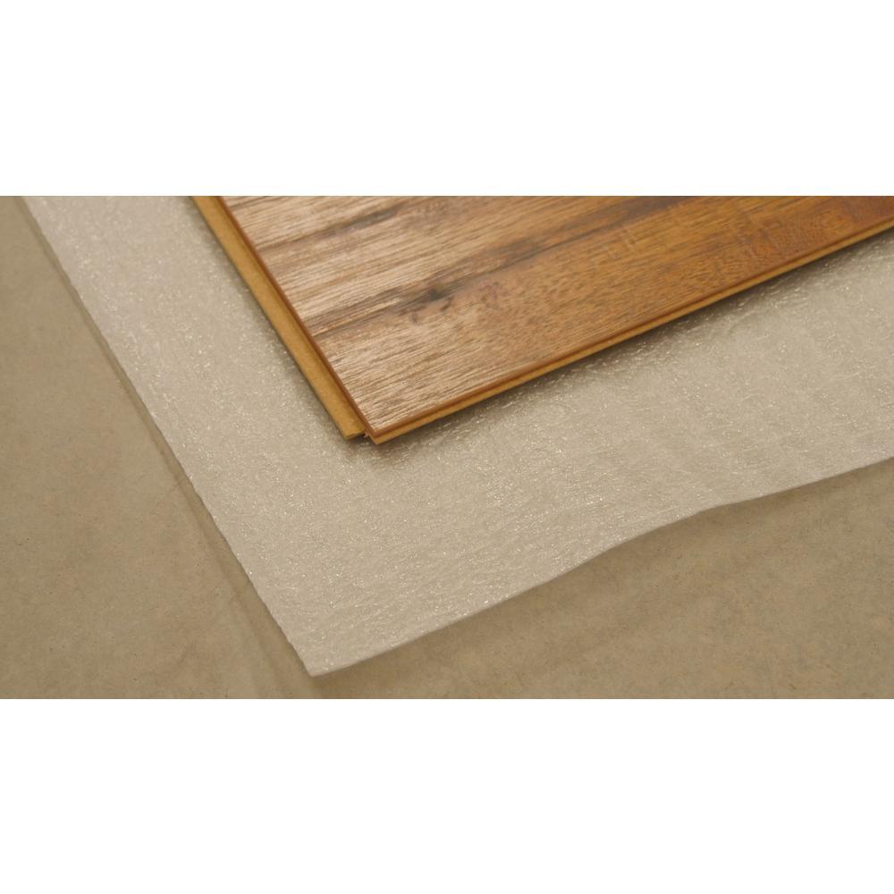 Polyethylene Foam 2 In 1 Underlayment, Foam Underlayment For Laminate Flooring Home Depot