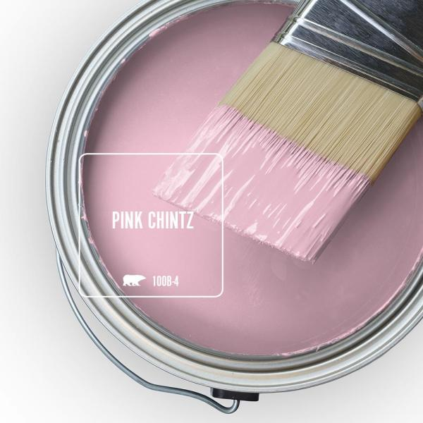 Reviews For Behr Ultra 5 Gal 100b 4 Pink Chintz Flat Exterior Paint And Primer In One 485005 The Home Depot