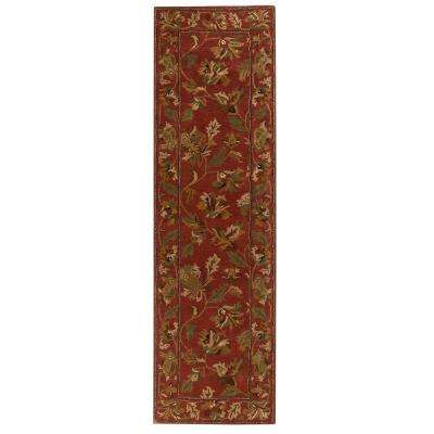 Governor Rust 2 ft. x 12 ft. Runner Rug