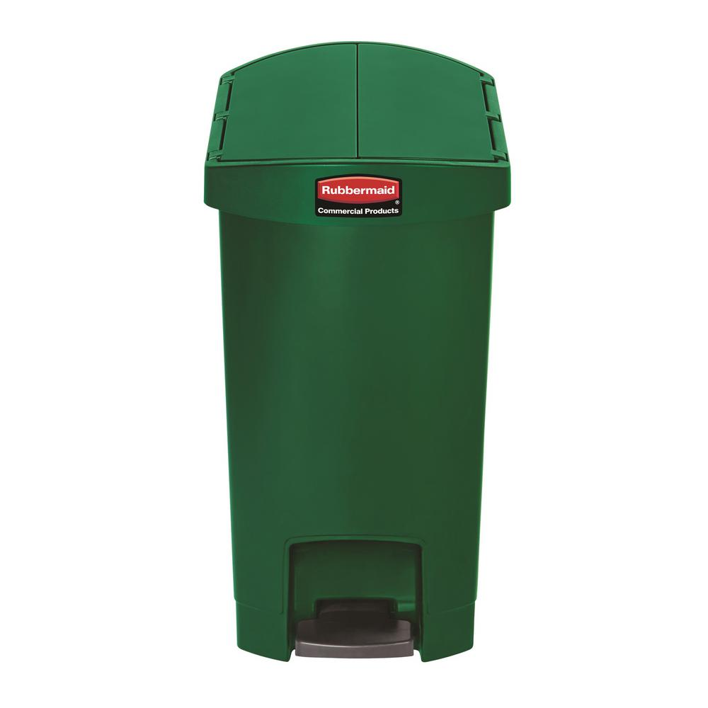 Home Depot Rubbermaid Step On Kitchen Trash Can