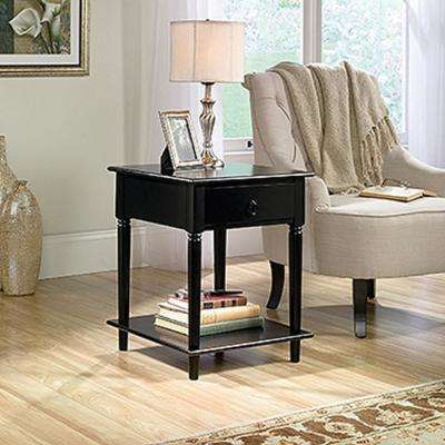 Palladia Collection Black End and Side Table