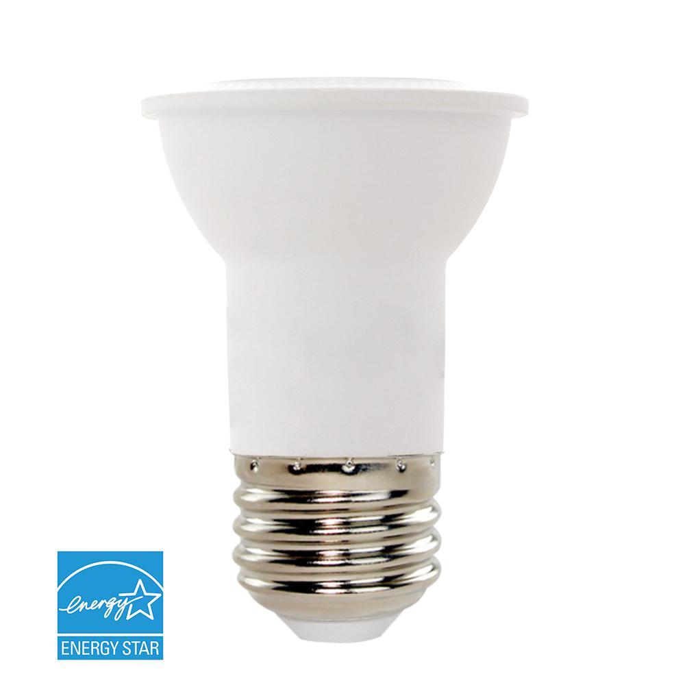 null 50W Equivalent Cool White (5000K) PAR16 Dimmable LED Light Bulb
