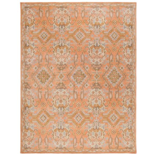 Wyndham Terracotta 9 ft. x 12 ft. Area Rug