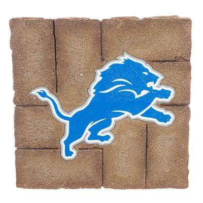 Detroit Lions 12 in. x 12 in. Decorative Garden Stepping Stone