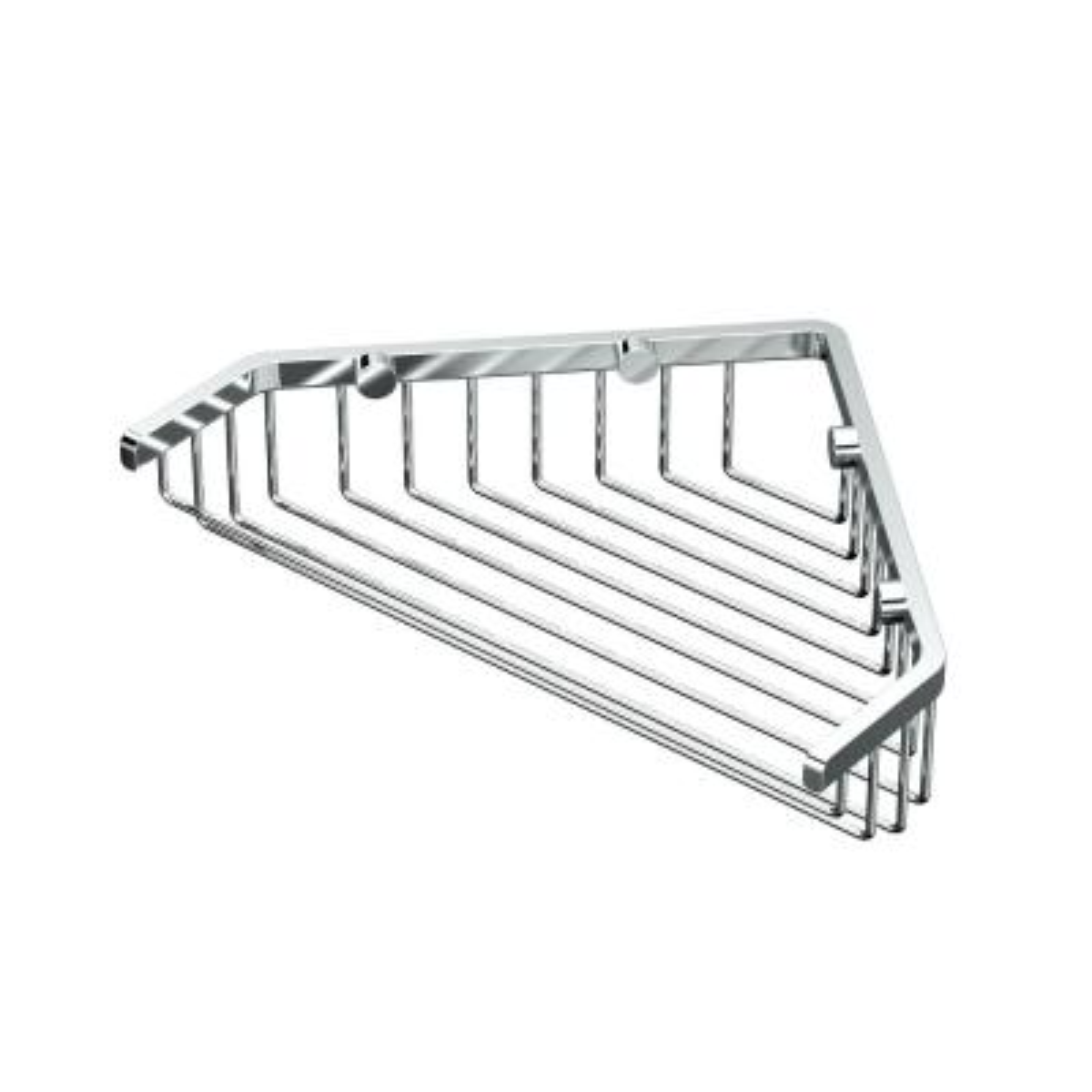 Shower Basket in Chrome