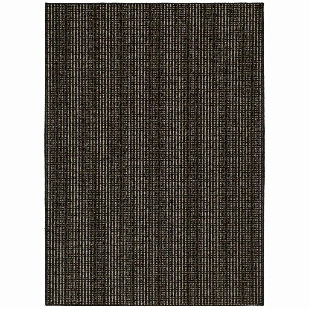 Garland Rug Berber Colorations Black 7 Ft 6 In X 9 Ft 6 In Area Rug Bc 00 Ra 7696 15 The