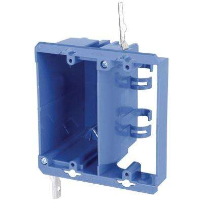 2-Gang PVC Dual Voltage Box/Bracket