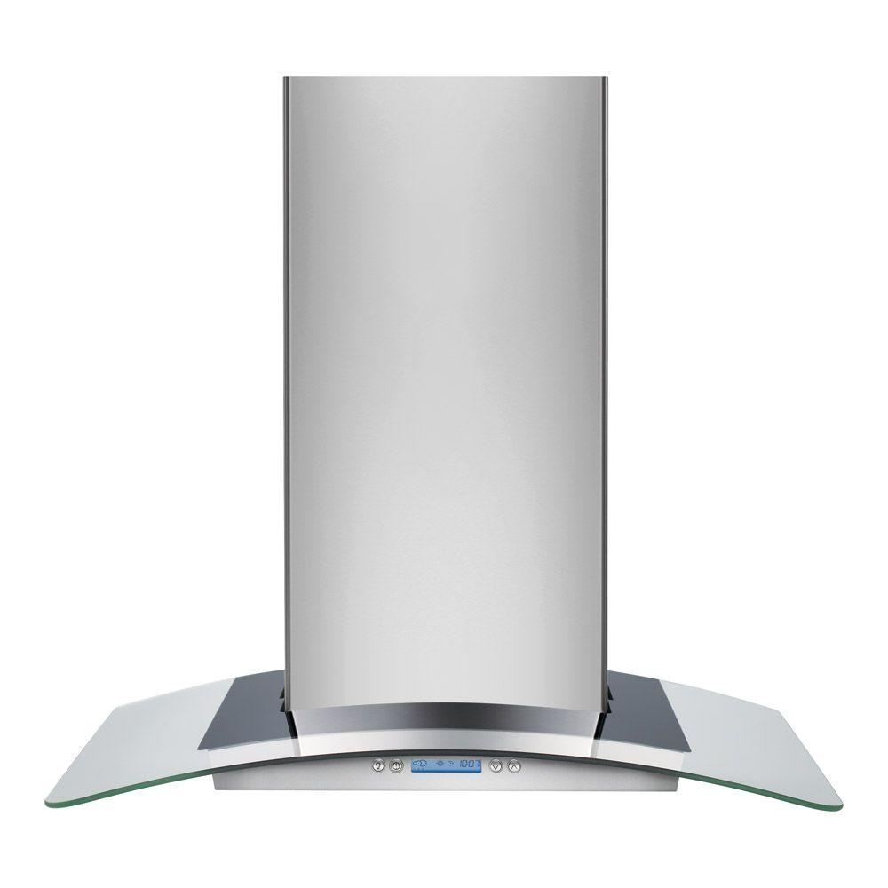 30 in. Wall Mount Chimney Range Hood in Stainless Steel with