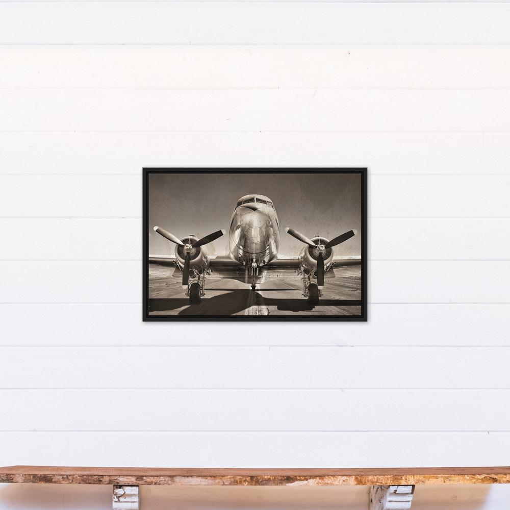 DESIGNS DIRECT 20 in. x 30 in. \'\'Vintage DC3 Airplane Photograph ...