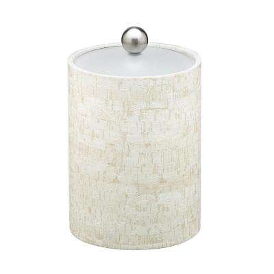 Stucco Cork Tall 2 Qt. Ice Bucket with Lucite Lid