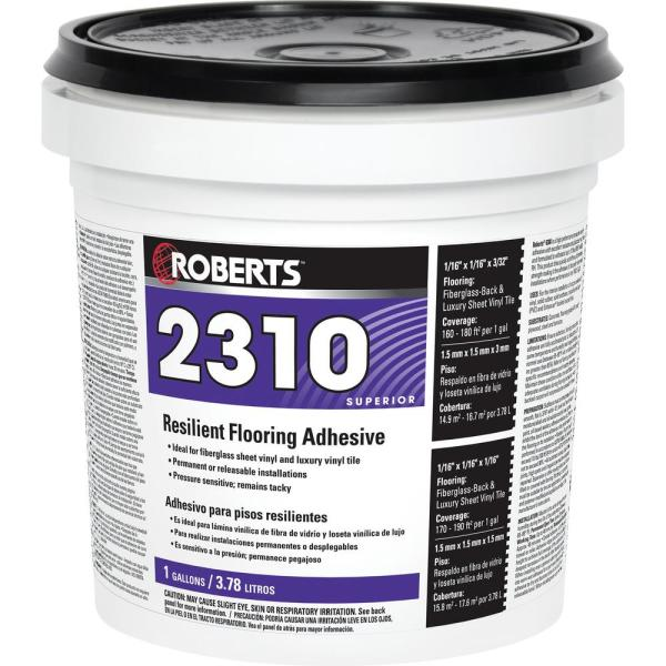 2310 1 Gal. Resilient Flooring Adhesive for Fiberglass Sheet Goods and Luxury Vinyl Tile