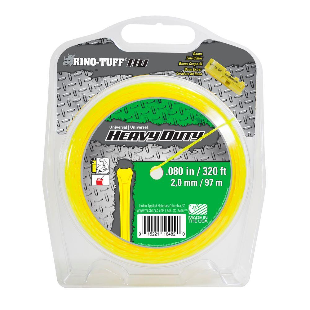 Rino-Tuff Universal 0.080 in. x 320 ft. Heavy-Duty Trimmer Line