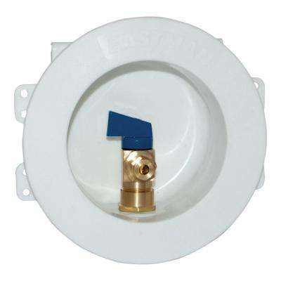 1/2 in. CPVC Round Mini Ice Maker Outlet Box