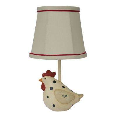 12 in. Multi-Colored Novelty Lamp
