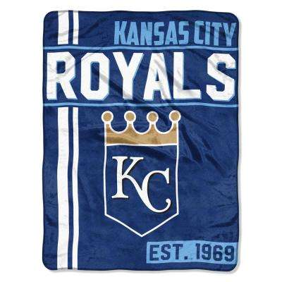 Royals Multi Color Polyester Walk off Micro