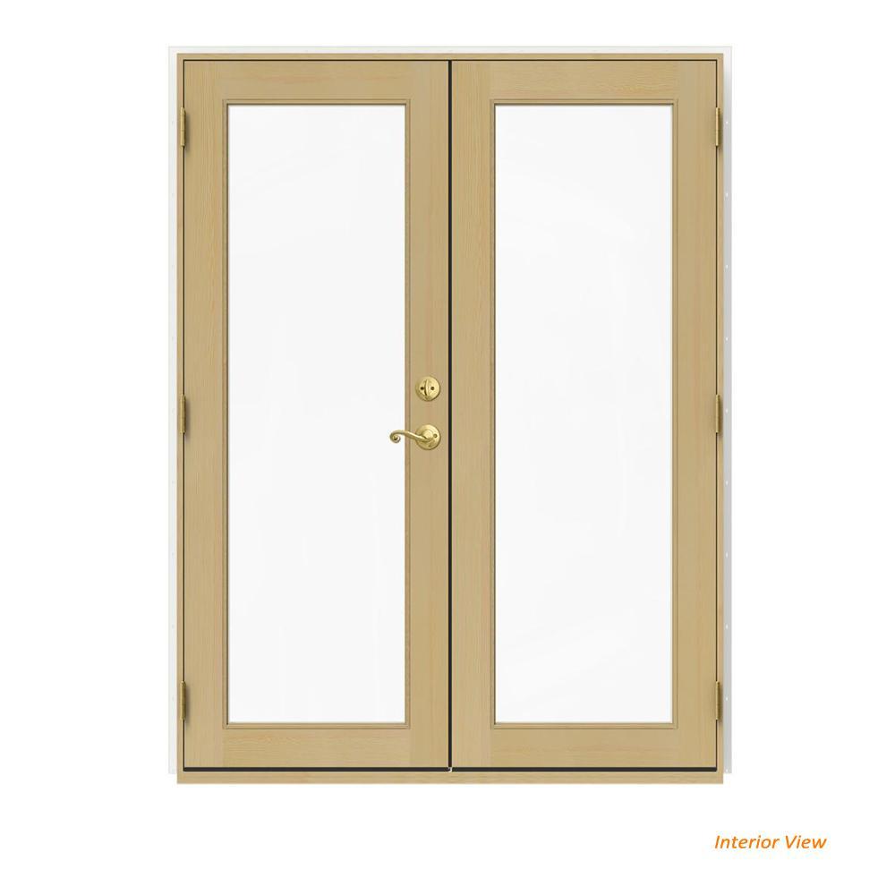 White Wood French Patio Door Patio Doors Exterior Doors
