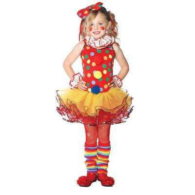 Girls Circus Clown Child Costume