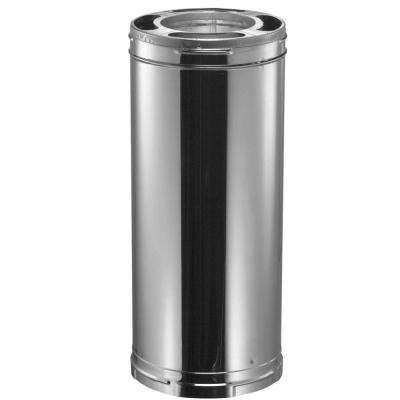 6 in. Dia x 36 in. Triple-Wall Galvanized Chimney Stove Pipe