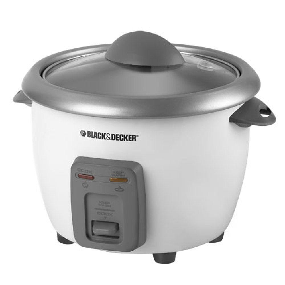 BLACK+DECKER 6-Cup Rice Cooker-DISCONTINUED