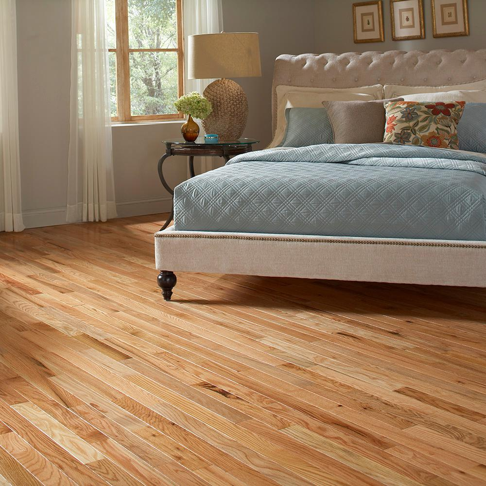 Blue Ridge Hardwood Flooring Red Oak Natural 3 4 In Thick X Wide Random Length Solid 18 Sq Ft Case