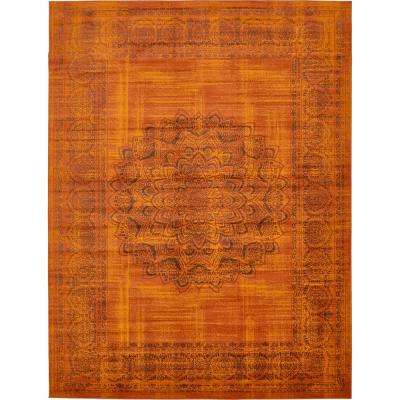Istanbul Terracotta 10 Ft X 13 Area Rug