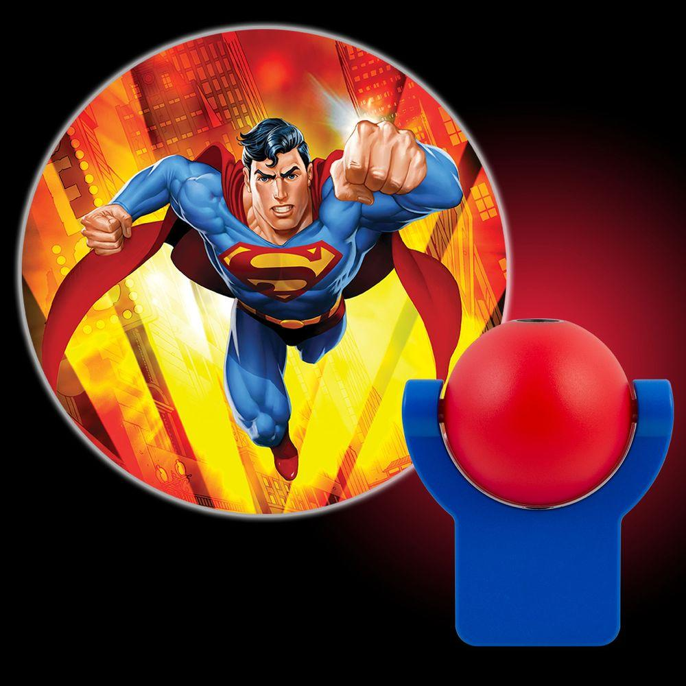 Projectables DC Comics Superman Automatic LED Night Light