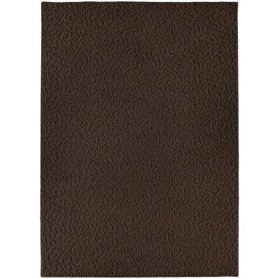 Ivy Chocolate 9 ft. x 12 ft. Area Rug