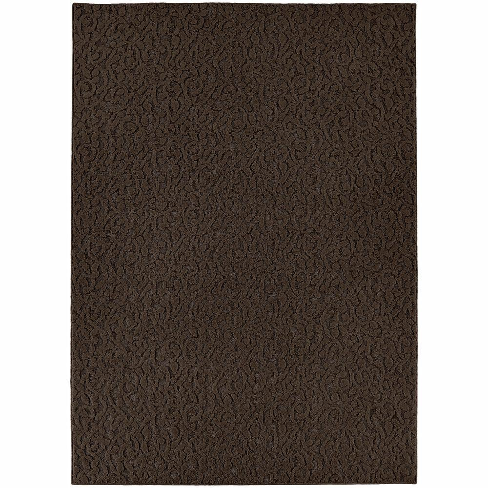Ivy Chocolate 12 ft. x 18 ft. Area Rug