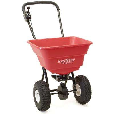 80 lbs. Estate Grade Spreader with Pneumatic Wheels