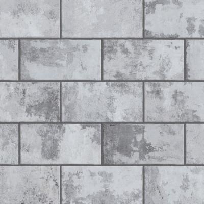 Biarritz Grey 3 in. x 6 in. Ceramic Wall Tile (6.04 sq. ft./ Case)