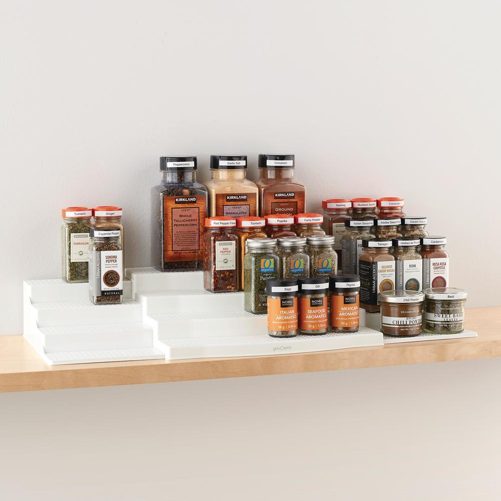 ShelfSteps Expandable 3-Piece Organizer