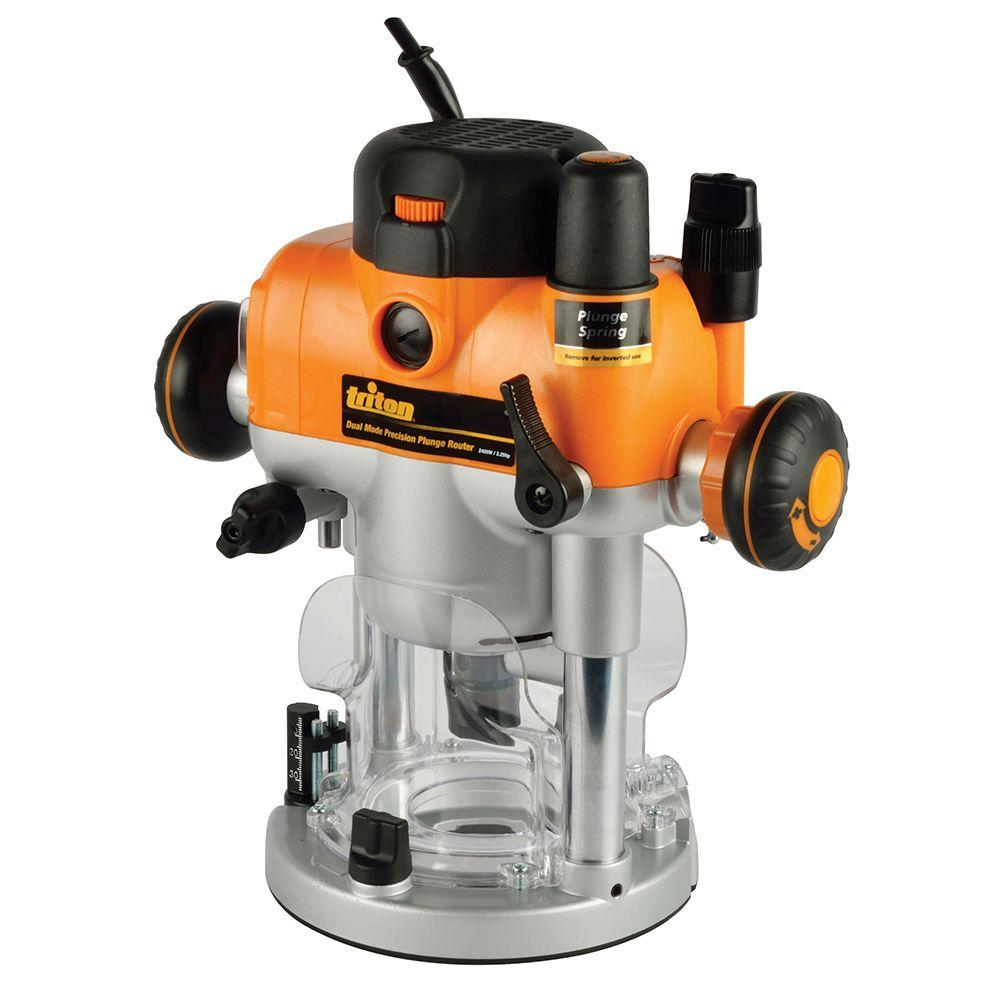 Triton 110 volt 325 hp precision dual mode router with plunge triton 110 volt 325 hp precision dual mode router with plunge tra001 the home depot keyboard keysfo Image collections
