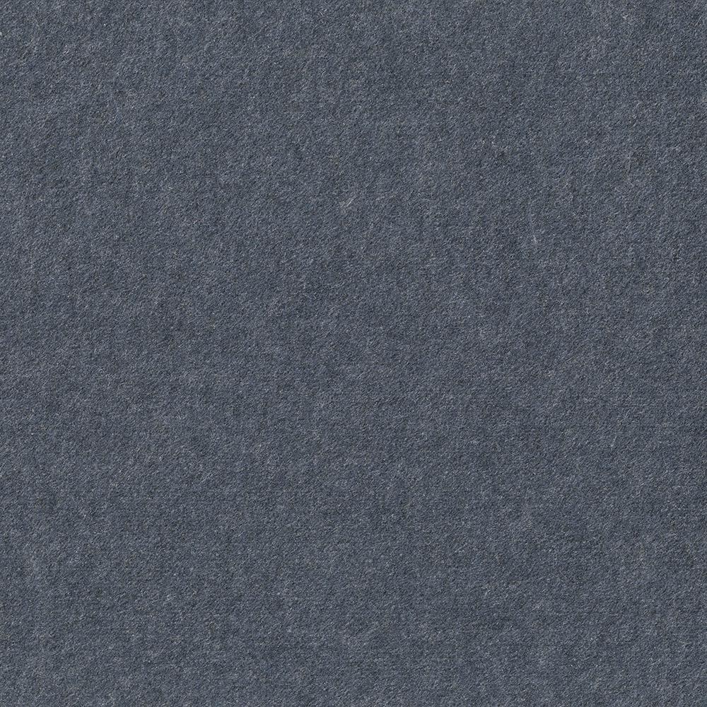 Premium Self-Stick First Impressions Flat Ocean Blue Texture 24 in. x 24 in. Carpet Tile (15 Tiles/60 sq. ft./case)