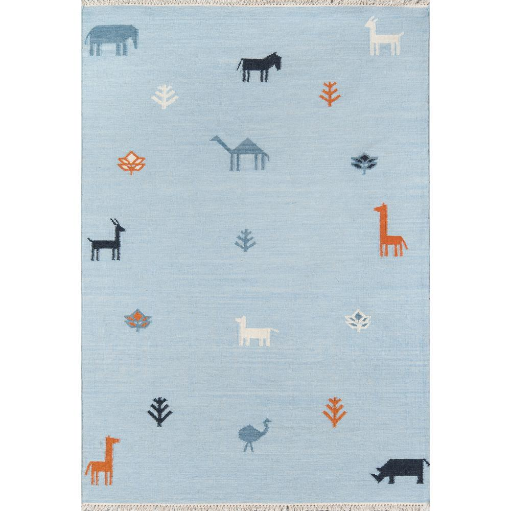 Porter Blue 2 ft. x 3 ft. Accent Rug