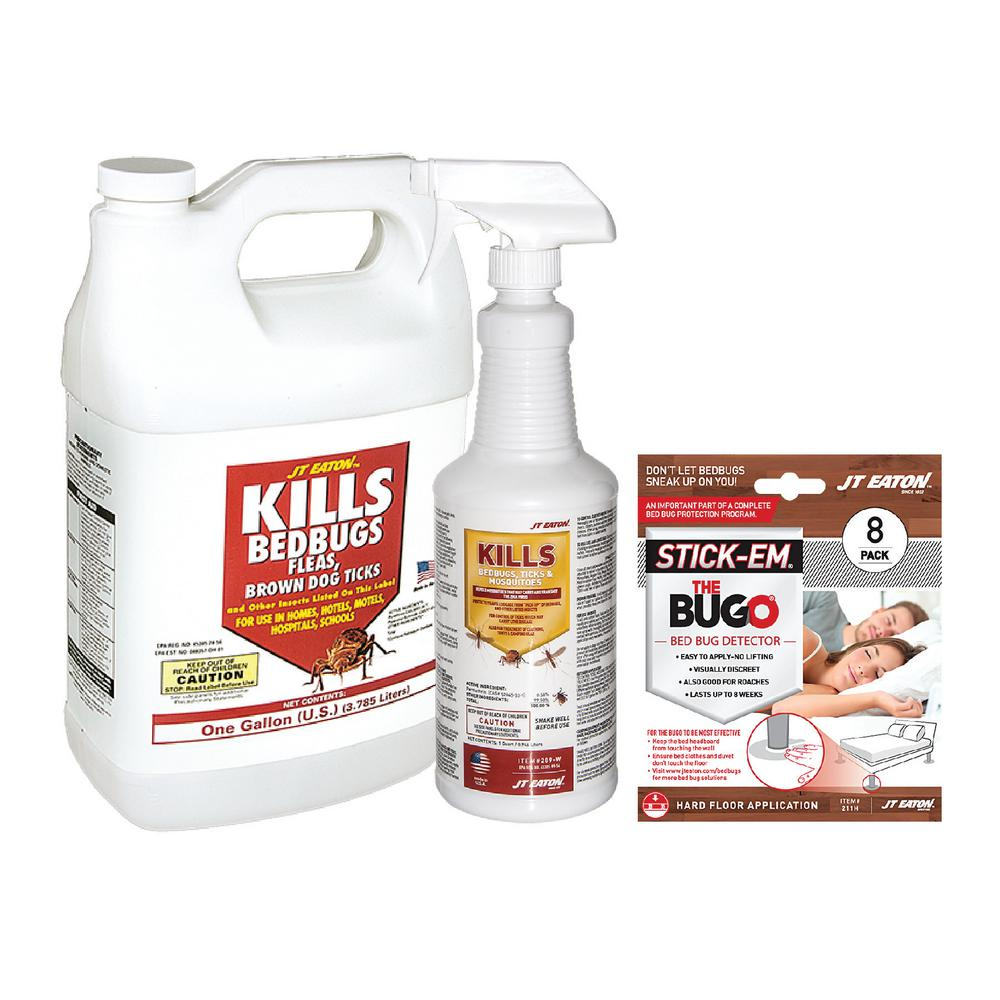 1 Qt. Bedbug Spray Value Kit with Economy Water Base