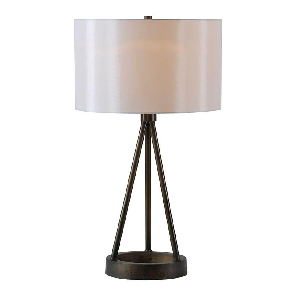 Celia 28 in. Bronze Floor Lamp
