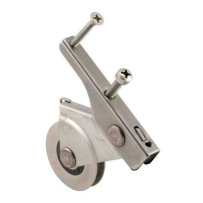 1 in. Stainless Steel Screen Door Roller Assembly