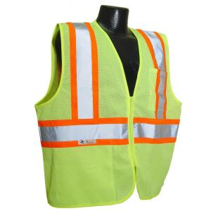 Radians CL 2 with Contrast green Large Safety Vest by Radians