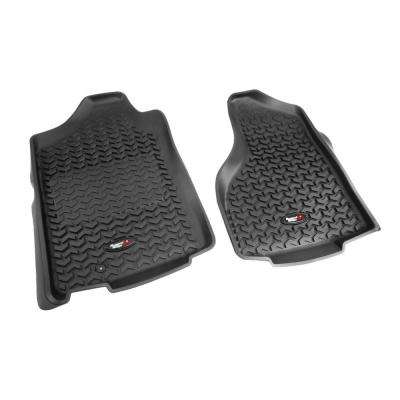 Floor Liner Front Pair Black 2002-2011 Ram 1500-3500 Reg 1 Hook