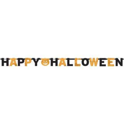 6.25 in. x 7.75 ft. Halloween Foil Letter Banner (3-Pack)