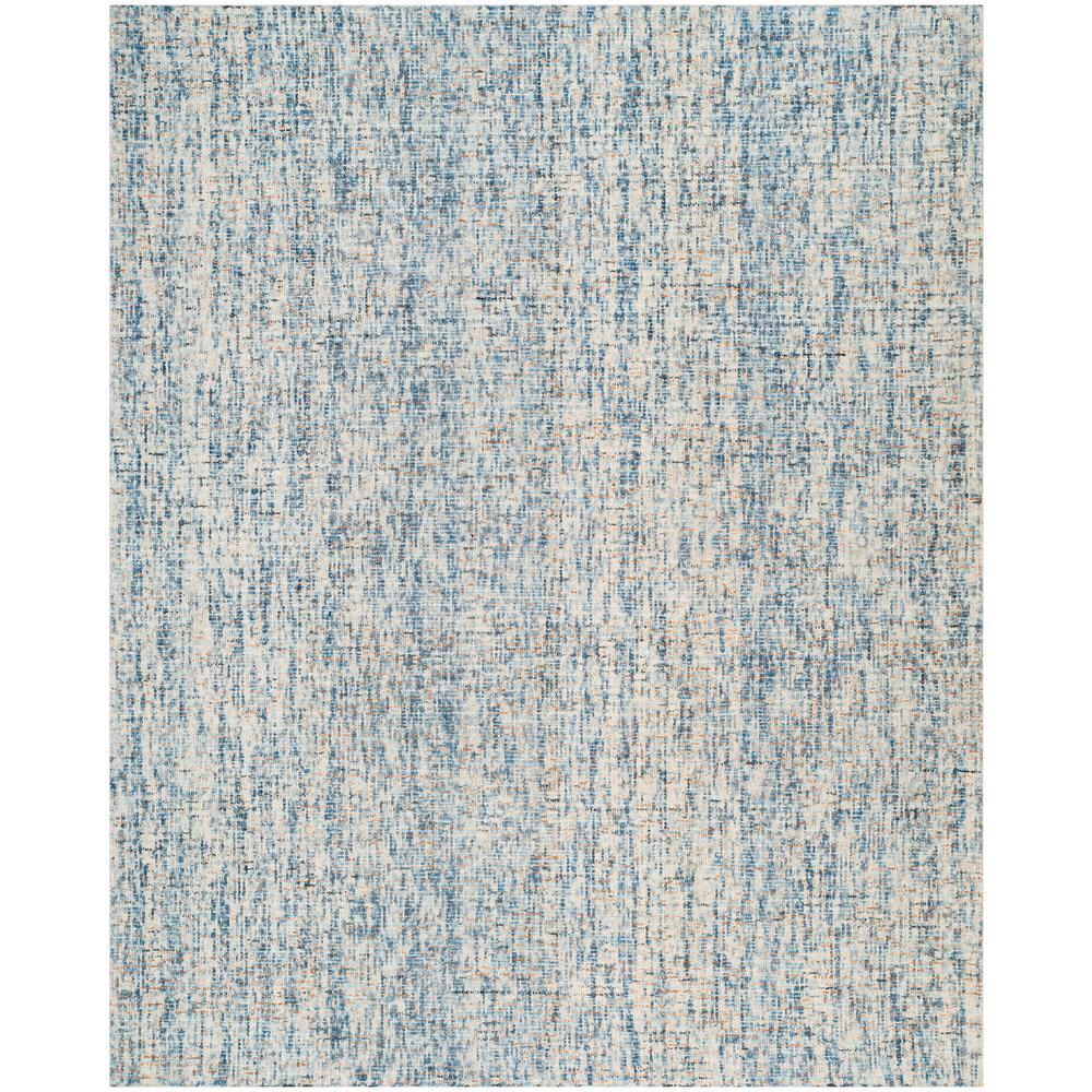Safavieh Abstract Dark Blue Rust 8 Ft