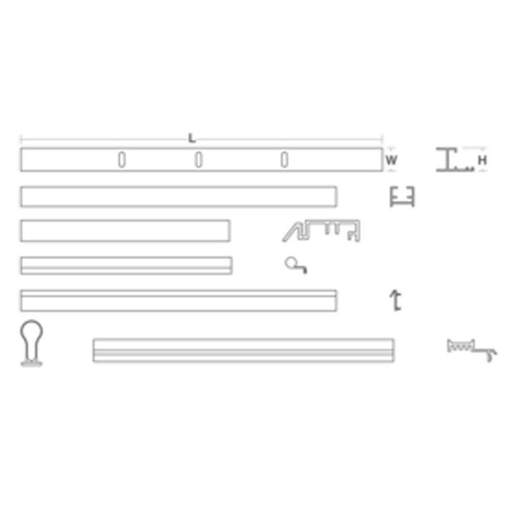 Pivot Door Assembly Kit  sc 1 st  Home Depot & KOHLER 60 in. Pivot Door Assembly Kit-705766-SHP - The Home Depot