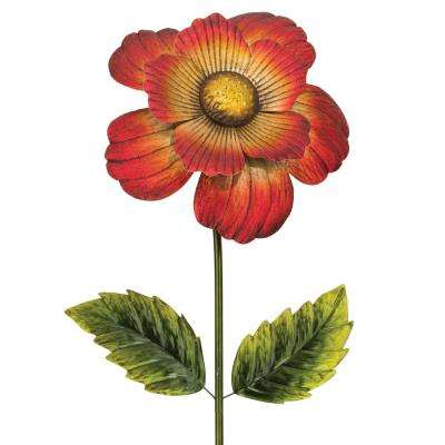 65 in. Giant Flower Stake - Red
