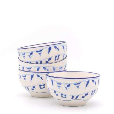Ahoy 4-Piece Cereal Bowl Set