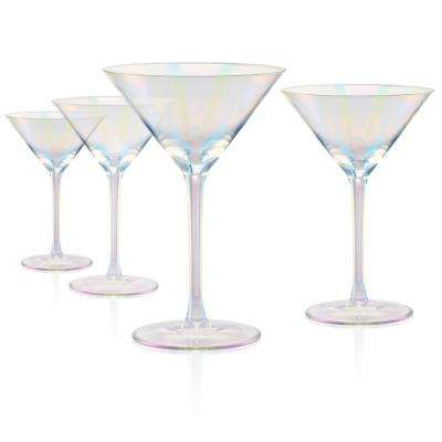 8 oz. Martini Glass Clear (Set of 4)
